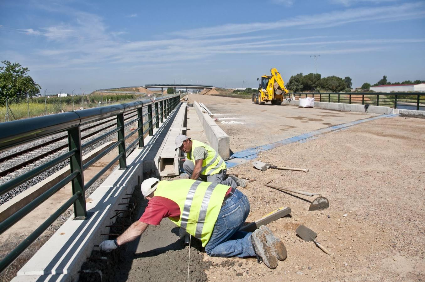 El suministro y transporte de desvíos ferroviarios para el tramo Talayuela-Cáceres-Badajoz saldrá a concurso por 8,6 millones de euros