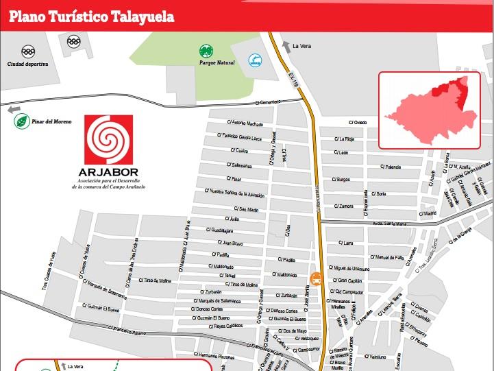 Talayuela cuenta con un nuevo callejero turístico
